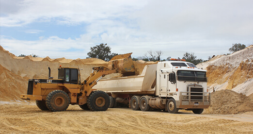 sand supplies in Perth