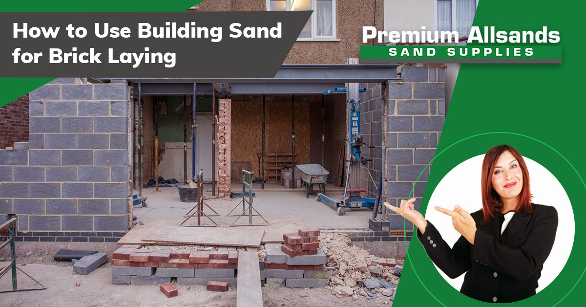 Building Sand for Brick Laying